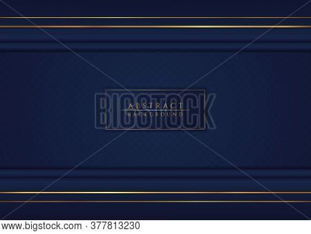 Modern Background Abstract Design Overlap Layer Pattern Style With Space For Content. Vector Illustr