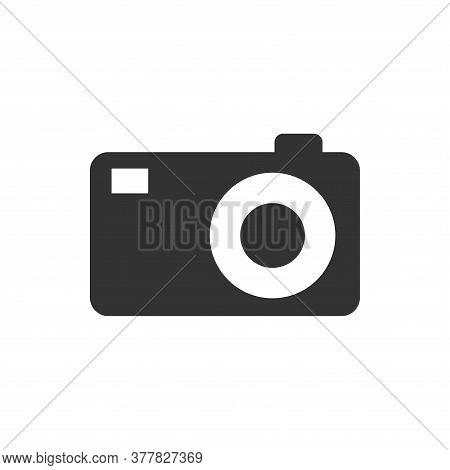 Camera Icon Isolated On White Background. Camera Icon Trendy And Modern Camera Symbol For Logo, Web,