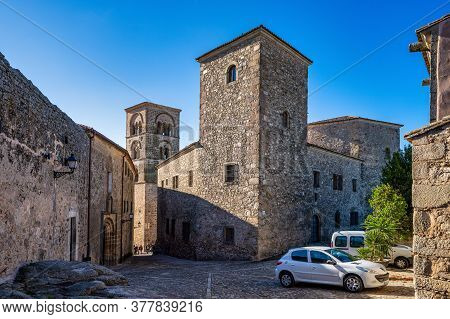 Trujillo, Spain - November 13, 2019: Church Of Santa Maria La Mayor In Trujillo Caceres Province, Ex