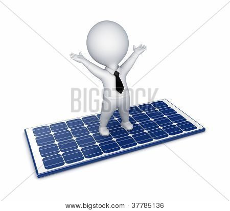 Solar energy concept.