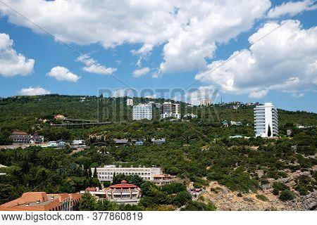 View Of Gaspra - A Resort Town In Crimea