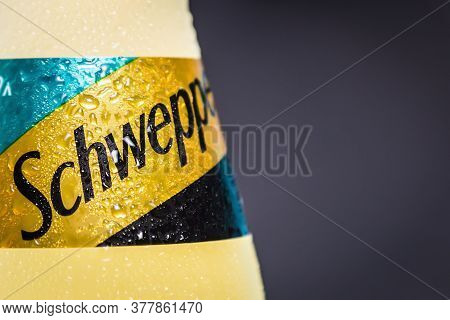 Schweppes Carbonated Drink In A Plastic Bottle