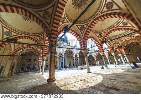 Edirne - Turkey: Selimiye Mosque, Designed By Mimar Sinan In 1575. Edirne On 17 August 2019