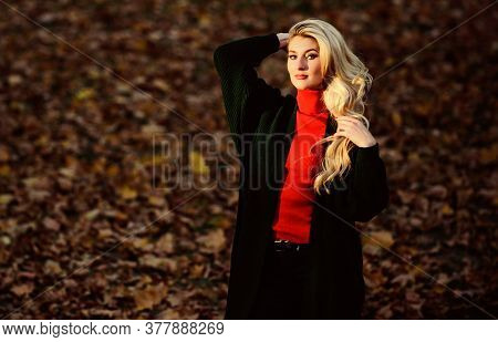 Long Hair Care Concept. How To Take Care Of Your Hair In Autumn. How Repair Bleached Hair Fast And S