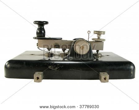 Antique morse key