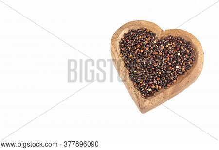 Seeds Of Black Quinoa - Chenopodium Quinoa