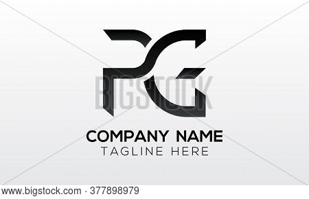 Initial Pg Letter Logo With Creative Modern Business Typography Vector Template. Creative Letter Pg