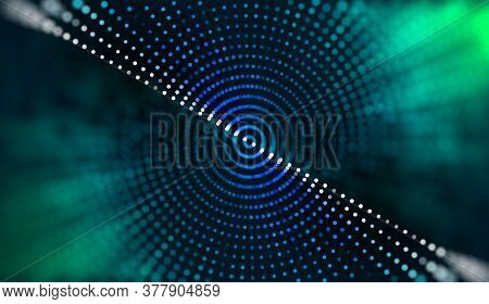 Bigdata Computing Vector Background. Big Data.computer Vision Abstract. Futuristic Data Chart Analys