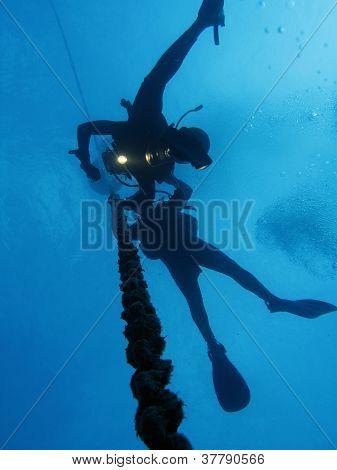 Divers decompression