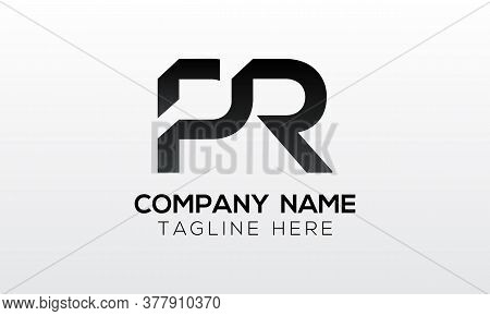 Initial Pr Letter Logo With Creative Modern Business Typography Vector Template. Creative Letter Pr