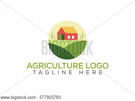 Agribusiness, Eco-farm And Rural Country, Vector Design. Farm Industries And Agronomy, Illustration,