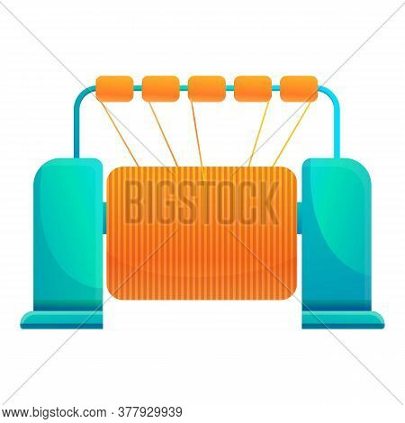 Textile Production Industry Icon. Cartoon Of Textile Production Industry Vector Icon For Web Design