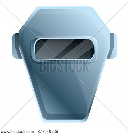 Welder Mask Icon. Cartoon Of Welder Mask Vector Icon For Web Design Isolated On White Background