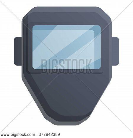 Blacksmith Mask Icon. Cartoon Of Blacksmith Mask Vector Icon For Web Design Isolated On White Backgr