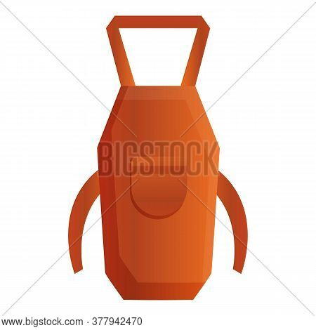 Blacksmith Apron Icon. Cartoon Of Blacksmith Apron Vector Icon For Web Design Isolated On White Back