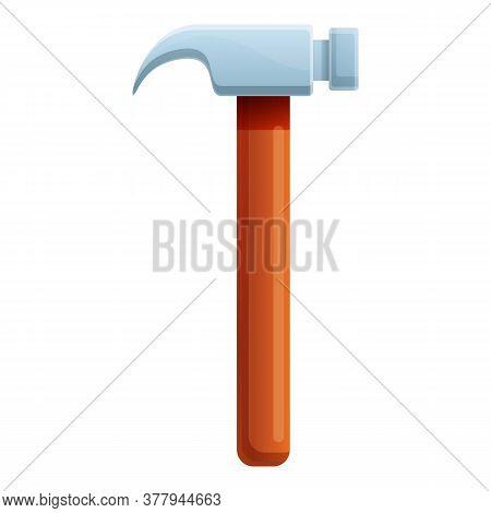 Blacksmith Home Hammer Icon. Cartoon Of Blacksmith Home Hammer Vector Icon For Web Design Isolated O