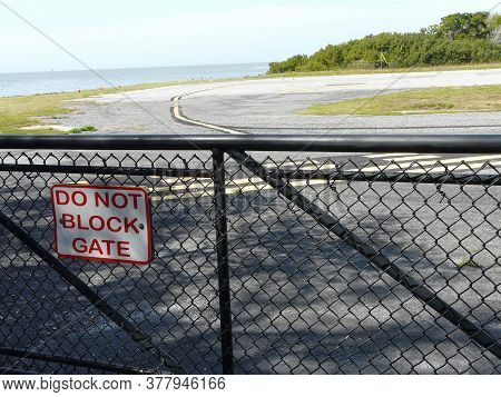 The George T. Lewis Airport At Cedar Key, Florida, On The Gulf Of Mexico Was Used As A Rescue Base D