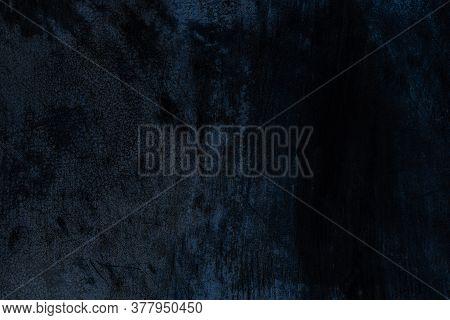 Metallic Texture. Dark Steel Plate Texture For Iron Sheet Material Background. Metal Wall Pattern. O