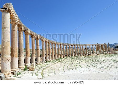 Roman Vestiges at Jerash