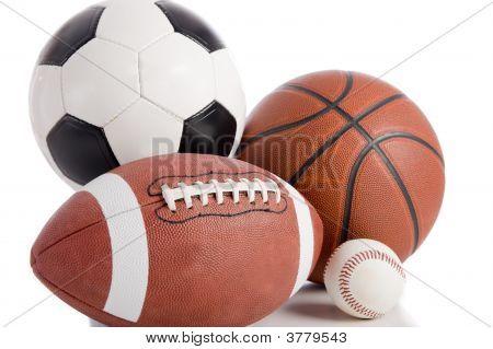Juegos de pelota en blanco