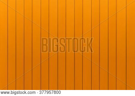 Brown Corrugated Metal Background And Texture Surface Or Galvanize Steel