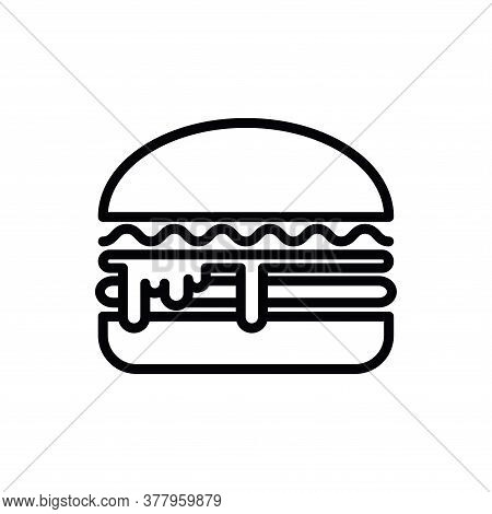 Illustration Vector Graphic Of Burger Icon