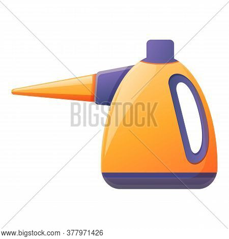 Steam Cleaner Device Icon. Cartoon Of Steam Cleaner Device Vector Icon For Web Design Isolated On Wh