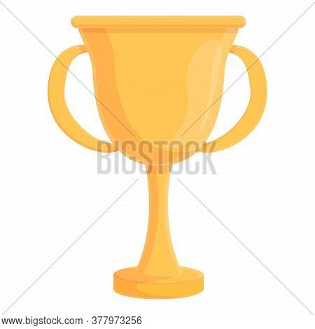 Greco-roman Wrestling Gold Cup Icon. Cartoon Of Greco-roman Wrestling Gold Cup Vector Icon For Web D