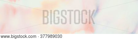 Pastel Splash. Blured Watercolour Decor. Rainbow Pastels Banner. Watercolour Gentle Decoration. Wate