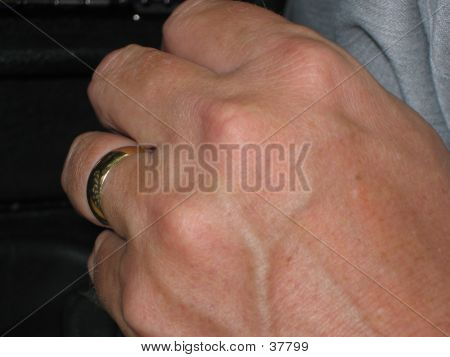Married Man's Hand