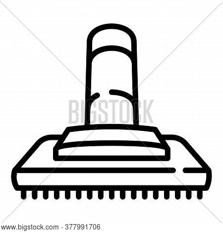 Vacuum Cleaner Brush Icon. Outline Vacuum Cleaner Brush Vector Icon For Web Design Isolated On White