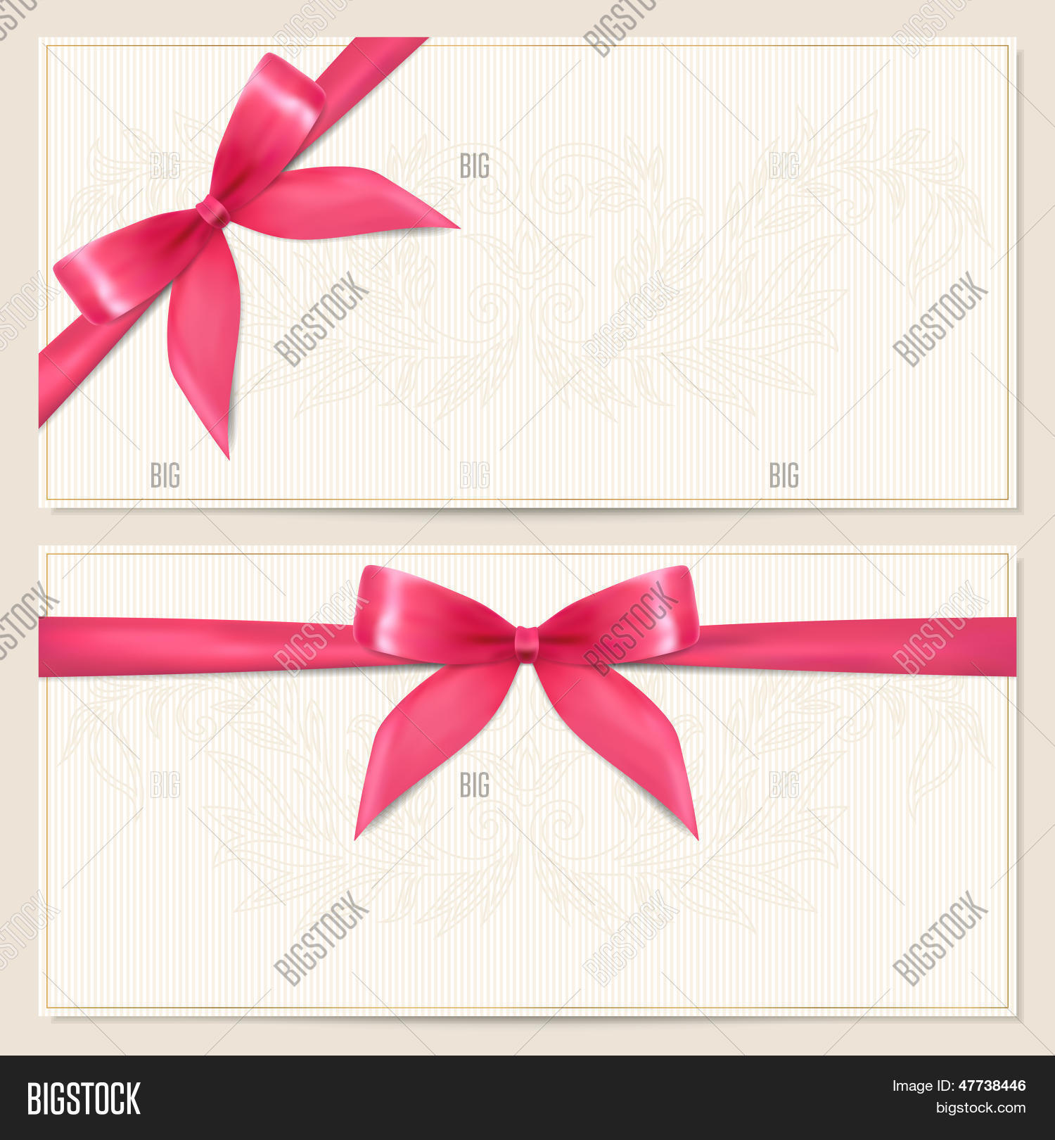 Voucher Gift Vector Photo Free Trial Bigstock