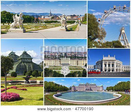 Vienna - Collage