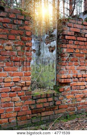 Ruins Of Abandoned House