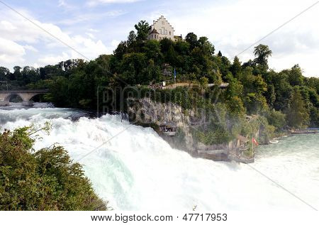 Rhine Falls, the highest waterfall in Europe