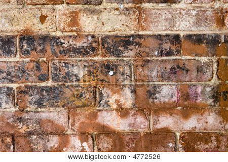 Old Dirty Brick Wall