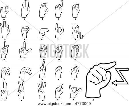 Sign Language Alphabet