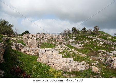 Sebastia Archeology Ancient Ruins