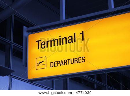 Airport Guideboard
