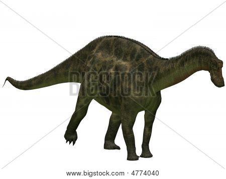 3 D Render of an Dicraeosaurus - 3D Dinosaur poster