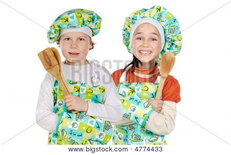 Two Future Cooks