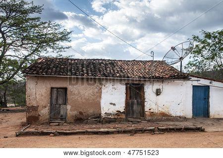 Mud House In Brazil