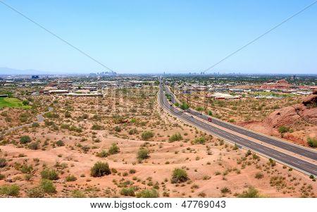 Mcdowell Road To Phoenix, Az