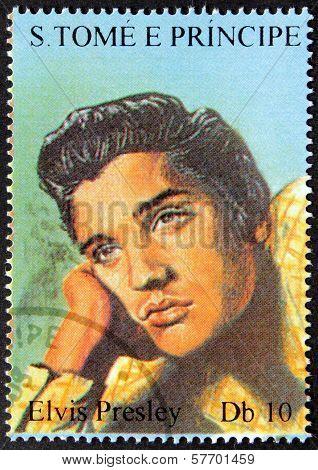 Presley S.tome Stamp#1