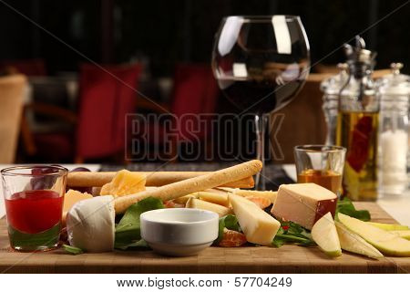 Big Mixed Cheese Plate