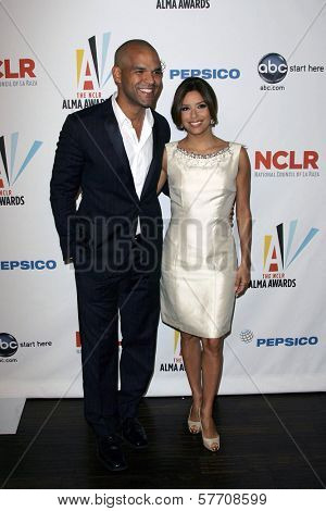 Amaury Nolasco and Eva Longoria Parker at the 2009 NCLR ALMA Awards Nomination Announcement Press Conference. Beso, Hollywood, CA. 08-25-09