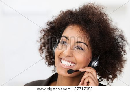 Beautiful Vivacious Client Services Operator