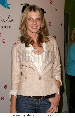 Angela Lindvall at the Debut of Loomstate for Target. Big Red Sun, Venice, CA. 04-14-09