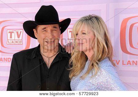 Clint Black and Lisa Hartman  at the 2009 TV Land Awards. Gibson Amphitheatre, Universal City, CA. 04-19-09