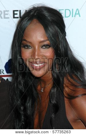 Naomi Campbell  at the The First Ladies of Africa Health Summit. Beverly Hilton, Beverly Hills, CA. 04-21-09
